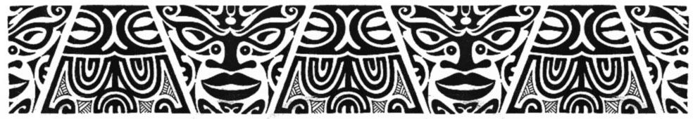 Polynesian Band Designs Traffic Club