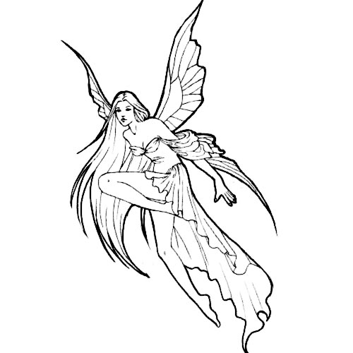 angel fairy tat tattoo 15