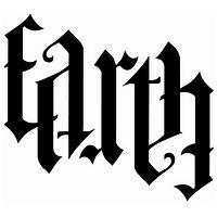 ambigram earth tat tattoo