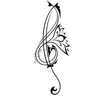 music tats tattoos 01